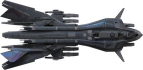 Heavy Ordinance Endurance Cutter Class space ship